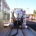 metro light rail cleanup vacuum excavating - city of phoenix