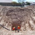 storm drain locating in mesa, az vacuum excavation - city of mesa