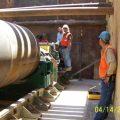 santan siphon boring machine tunnel attachment (BMTA) - ADOT arizona department of transportation