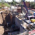 asu new science building hand tunneling - arizona board of regents/arizona state university