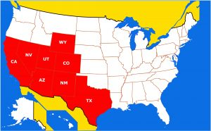 SSC Services US Map nologo